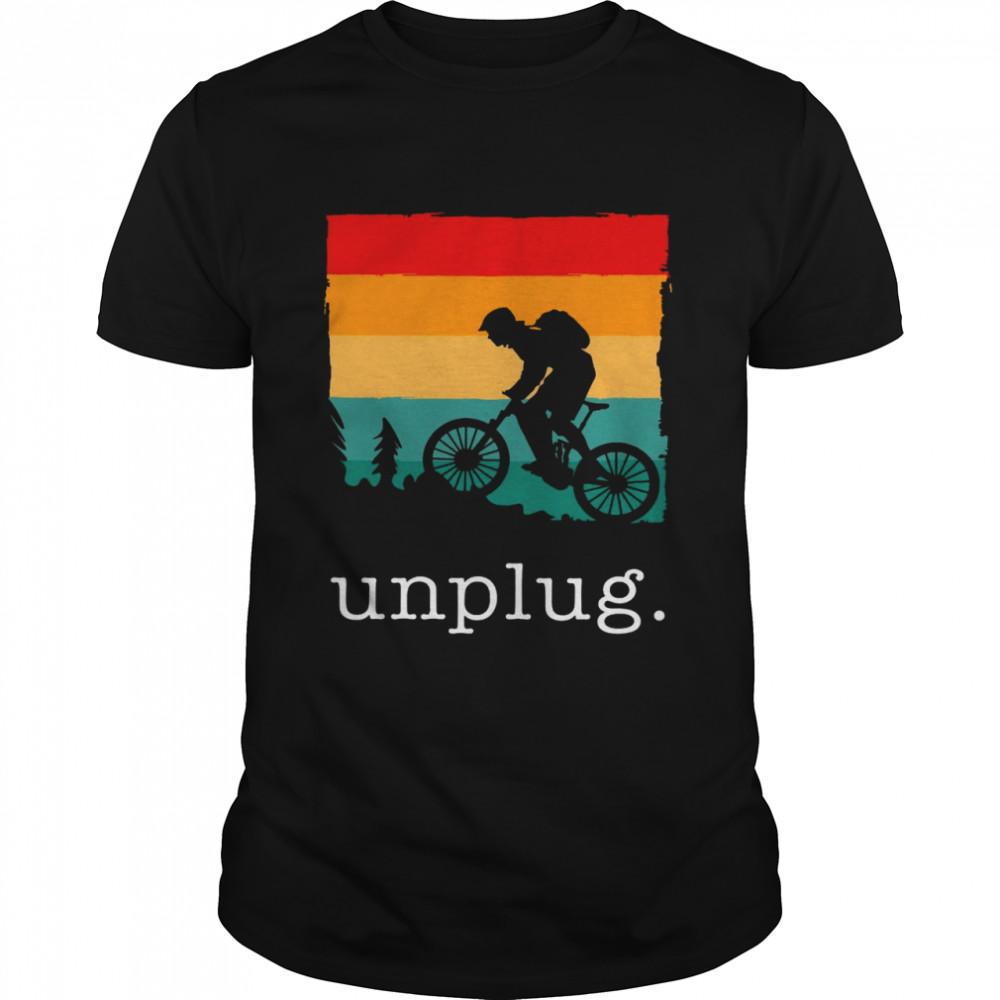Official Unplug shirt Classic Men's T-shirt