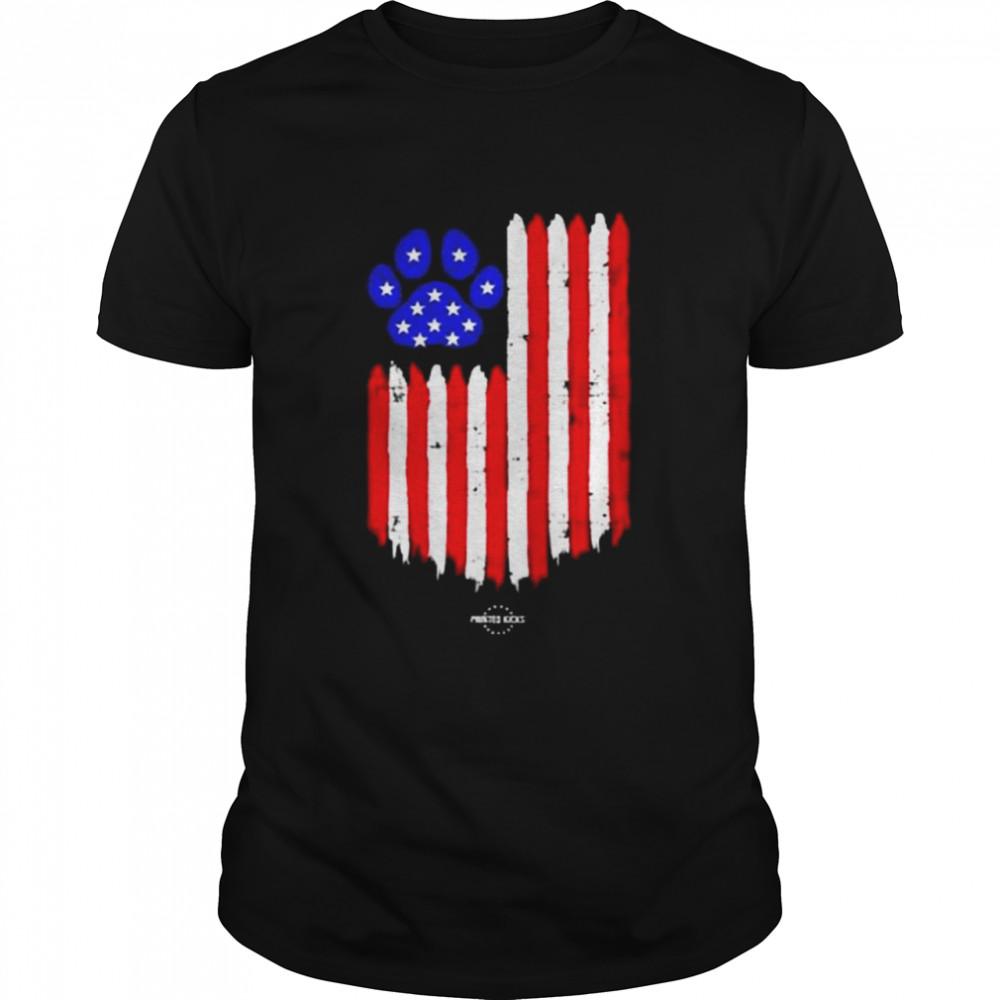 Paw Flag Youth shirt Classic Men's T-shirt