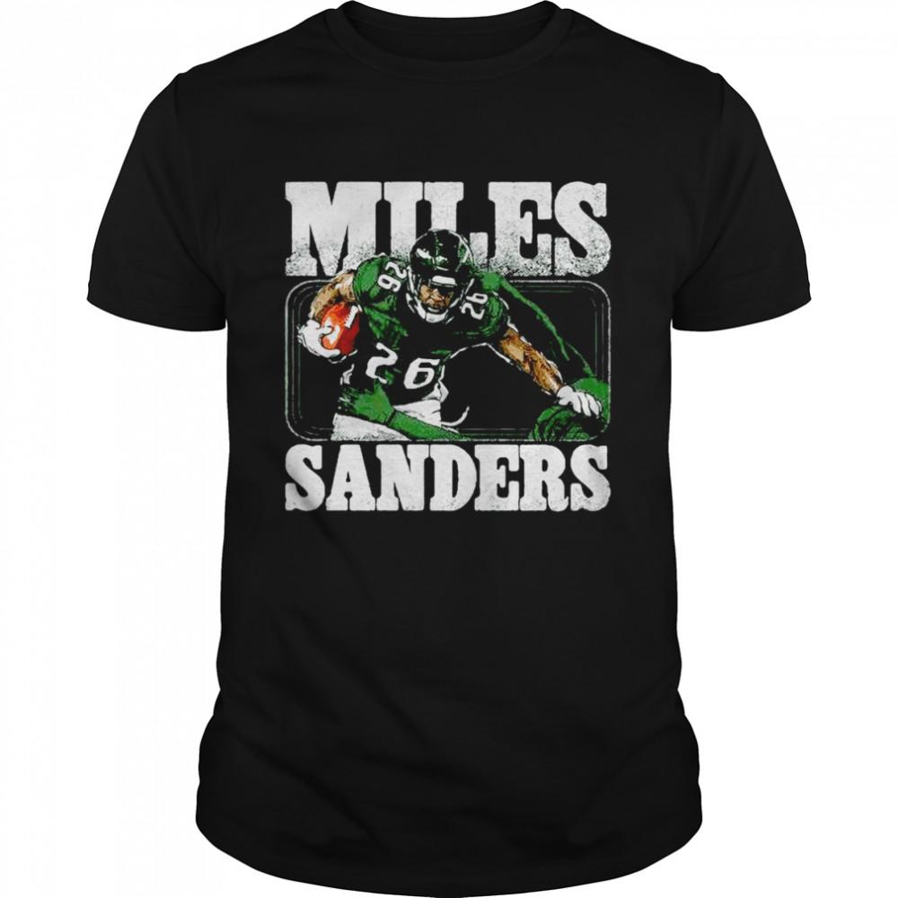 Philadelphia Eagles Miles Sanders Stiff Arm  Classic Men's T-shirt